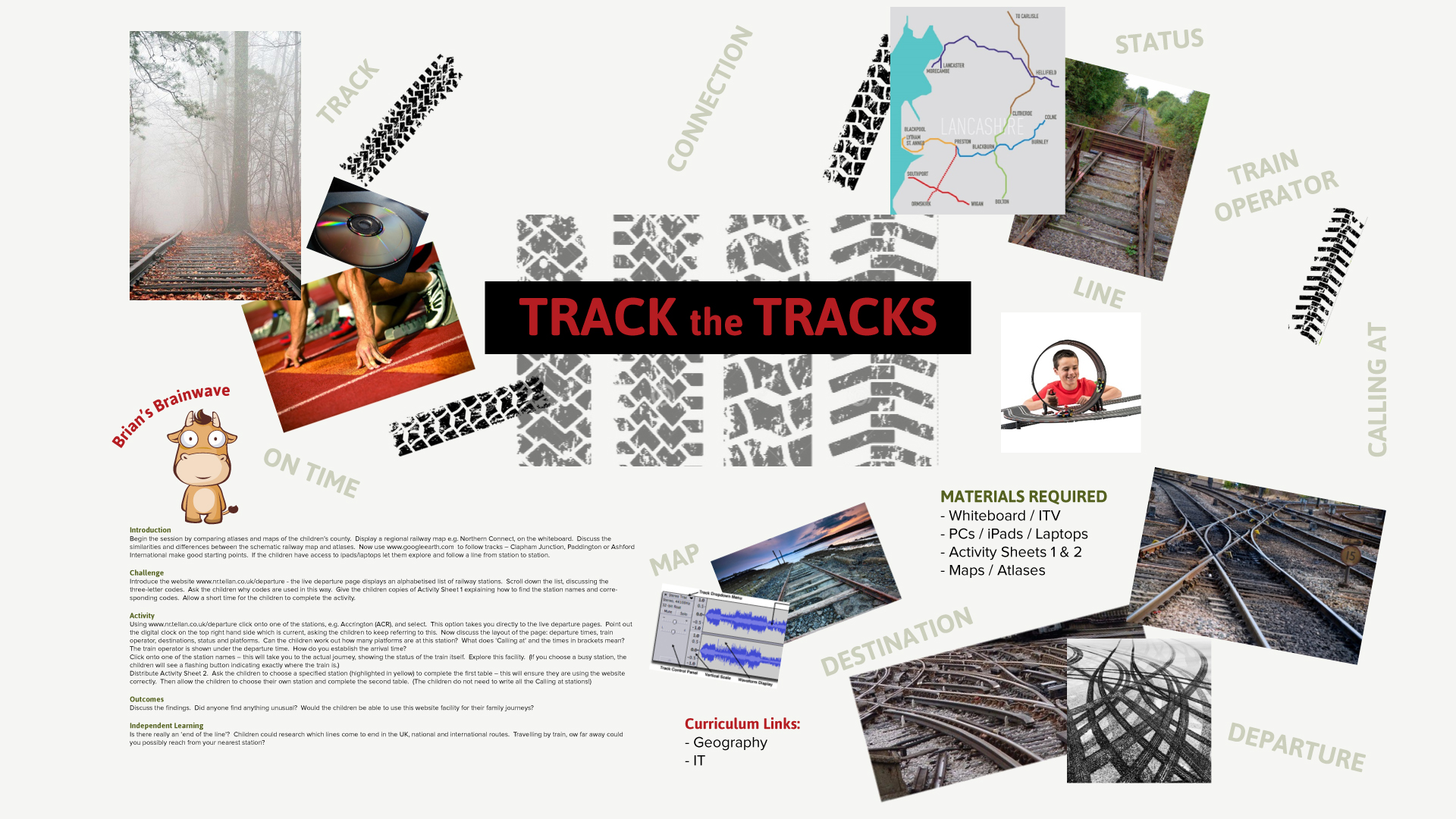 Track the Tracks | Down The Line